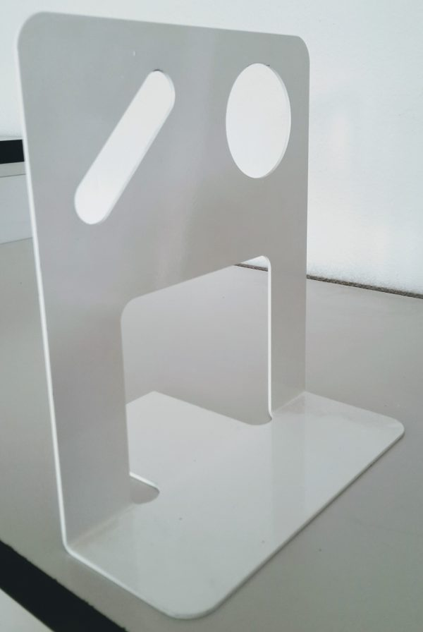 Reggilibro metallico